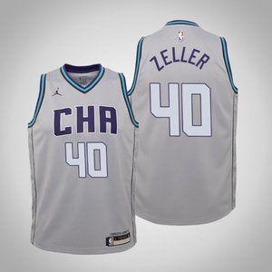 Women Charlotte Hornets Cody Zeller City Jersey